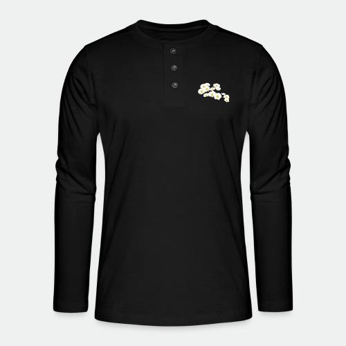 Spring Season Daisies - Henley long-sleeved shirt