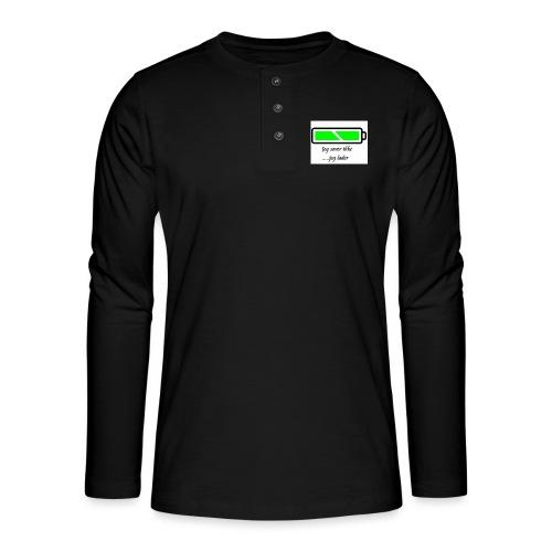 lader_2 - Henley langermet T-skjorte