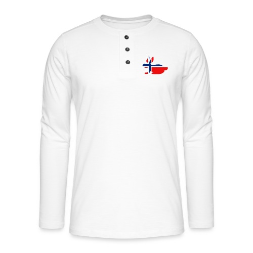 norwegian bunny - Henley long-sleeved shirt