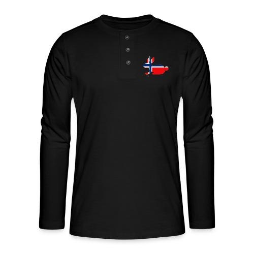 norwegian bunny - Henley long-sleeved shirt