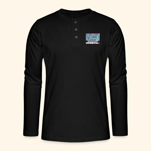 Slur-F05 - Henley long-sleeved shirt