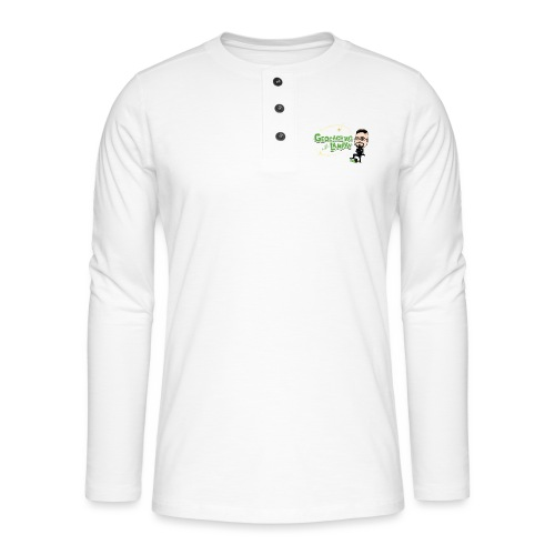 Geocaching With Lampay - T-shirt manches longues Henley