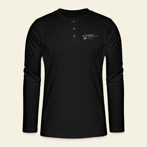 mjlner - Henley T-shirt med lange ærmer