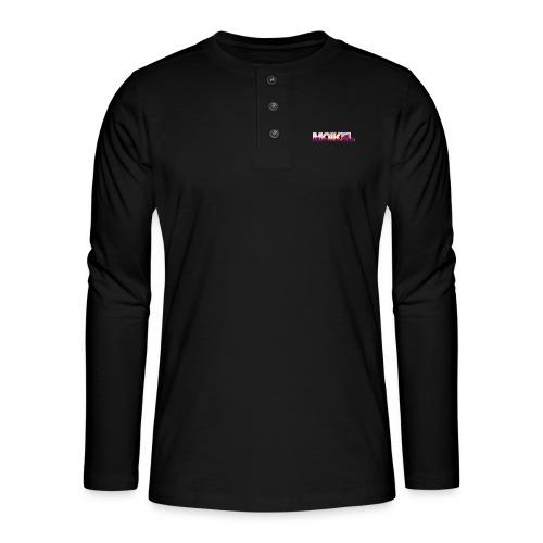 Moikel Rising Sun - Henley T-shirt med lange ærmer