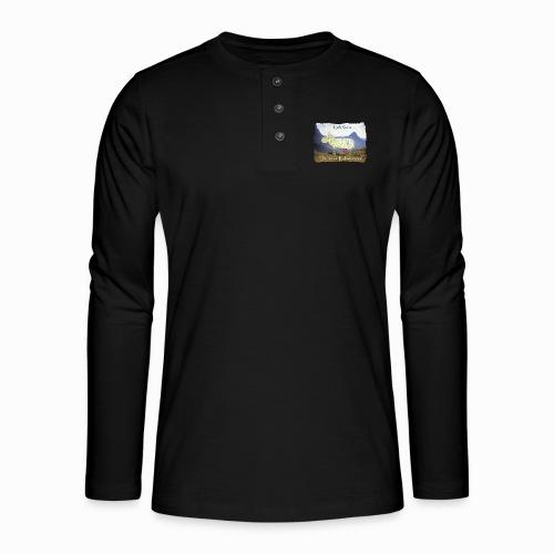 Die Kuh Rona - Henley Langarmshirt