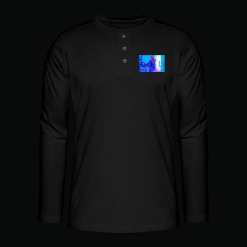 bafti lsd tee - Henley T-shirt med lange ærmer
