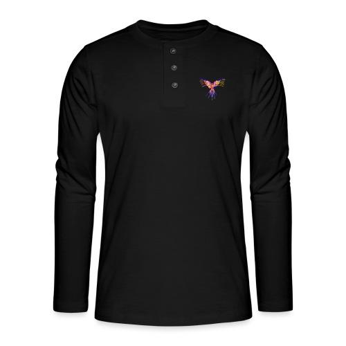 K.A Shirts - Henley T-shirt med lange ærmer