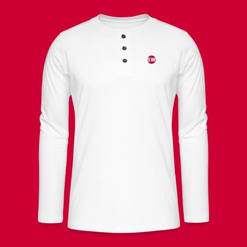 #Schiphol - krimpen of verhuizen! - Henley shirt met lange mouwen