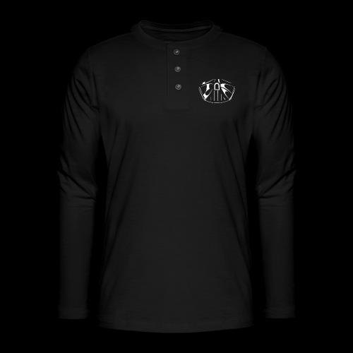 el lado oscuro de la fuerza - Camiseta panadera de manga larga Henley