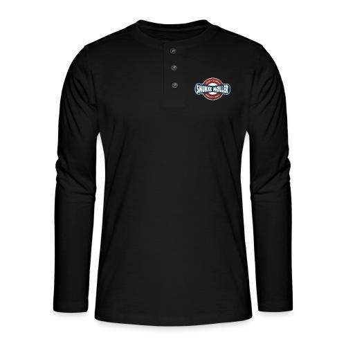 smlogo - Henley T-shirt med lange ærmer