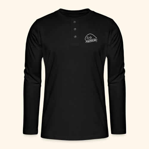 Miesmuscheli Kontrast - Henley Langarmshirt