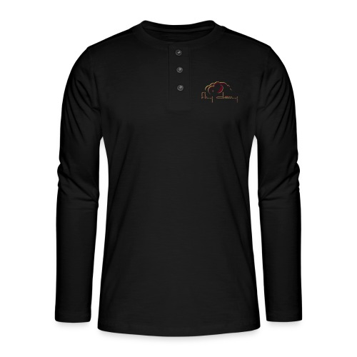 Fly Day - T-shirt manches longues Henley