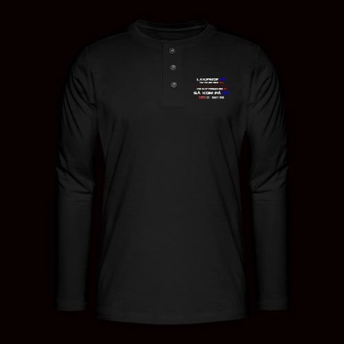 DD på PD Kollektion 2016 - Henley T-shirt med lange ærmer