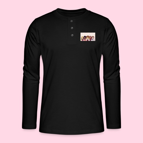 bggals png - T-shirt manches longues Henley