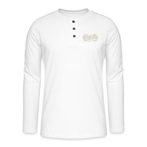 StaalBBQ - Henley T-shirt med lange ærmer