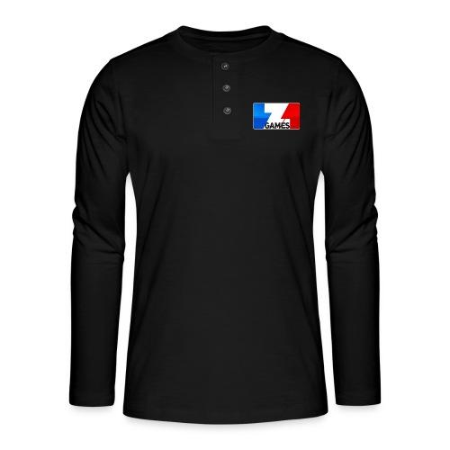 9815 2CZoominGames so MLG - Henley long-sleeved shirt
