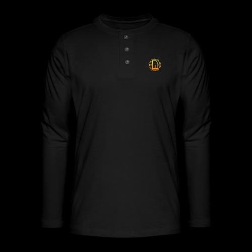 'A' Design Gold Edition - Henley long-sleeved shirt