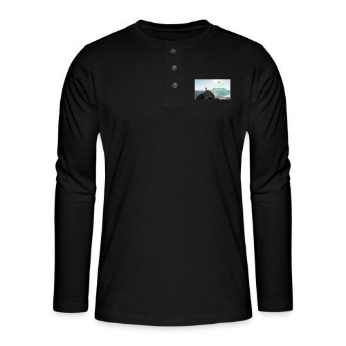 fbdjfgjf - Henley long-sleeved shirt