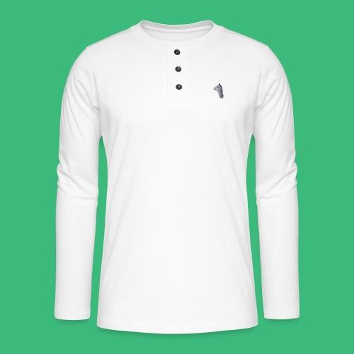 Lama KristalArt / alle kleuren - Henley shirt met lange mouwen