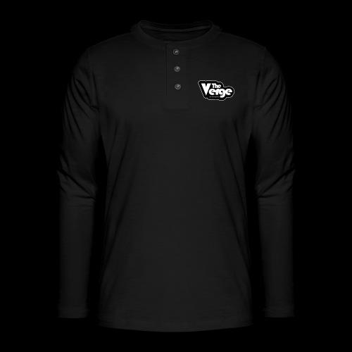 TV Sticker 001 - T-shirt manches longues Henley