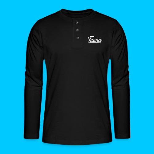 Tuana - Henley shirt met lange mouwen