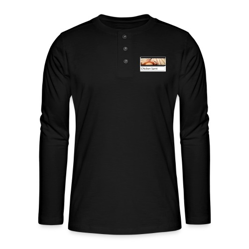chicken sarni - Henley long-sleeved shirt