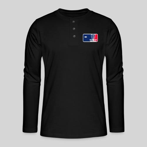 Major League Frisbeegolf - Henley pitkähihainen paita