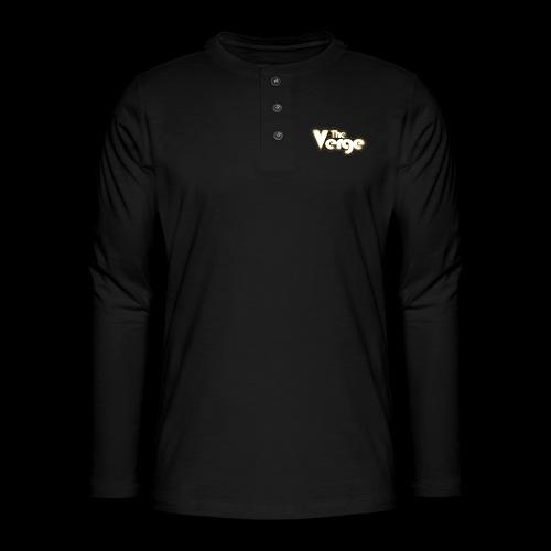 TV logo 005 - T-shirt manches longues Henley