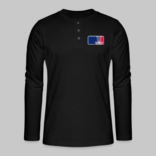 Disc golf - Henley pitkähihainen paita