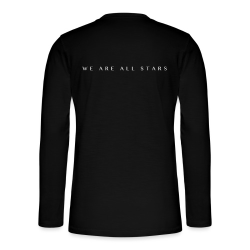 Galaxy Music Lab - We are all stars - Henley T-shirt med lange ærmer