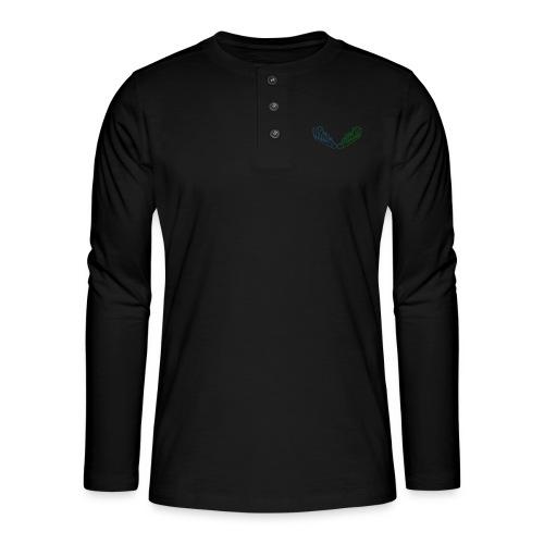Kiehiset Technicolour - Henley pitkähihainen paita
