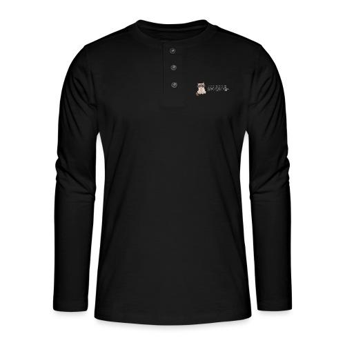 99bugs - white - Henley shirt met lange mouwen
