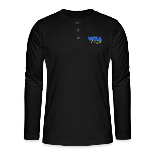 Vera player shop - Camiseta panadera de manga larga Henley