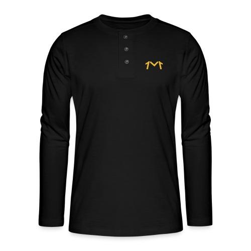 1M, LE LOGO DE L'UNIVERS - T-shirt manches longues Henley