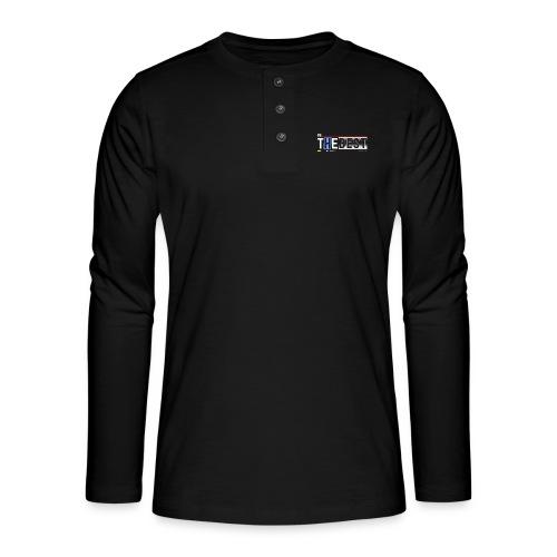 Be the best - Henley Langarmshirt