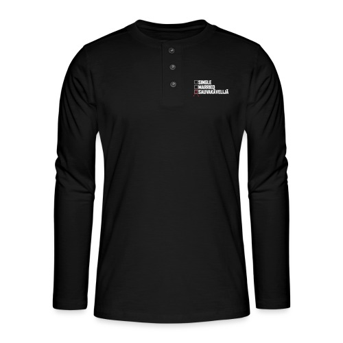 Sauvakävelijä - Henley pitkähihainen paita