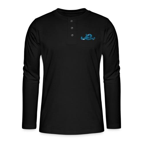EZS T shirt 2013 Front - Henley shirt met lange mouwen