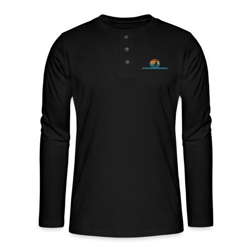 Windsurfer - Camiseta panadera de manga larga Henley