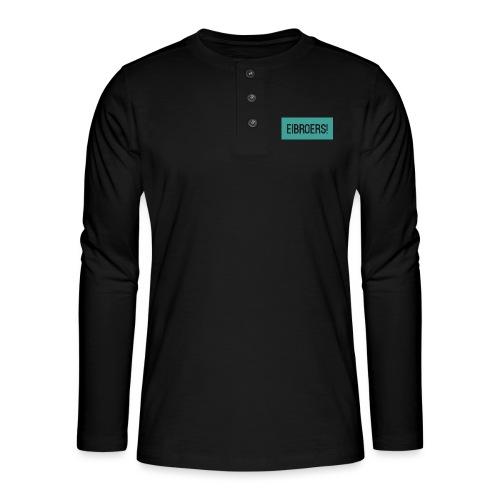 T-shirt Eibroers Naam - Henley shirt met lange mouwen