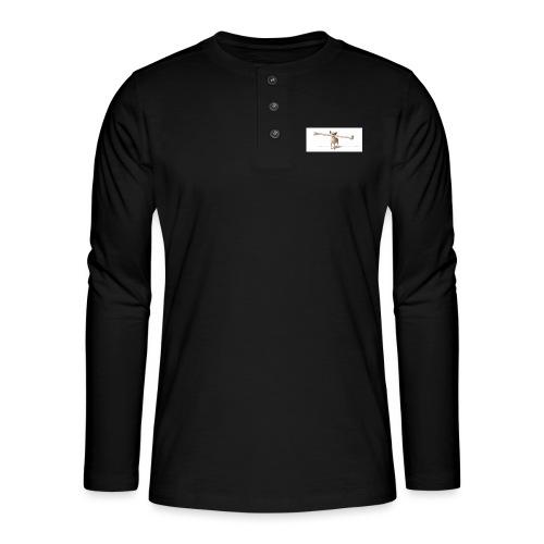 Tough Guy - Henley shirt met lange mouwen