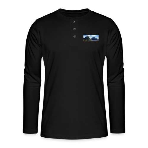 believe in yourself - Henley long-sleeved shirt