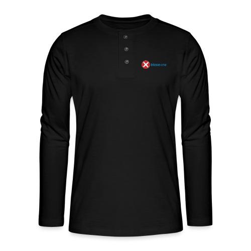 Unkown Error - Henley pitkähihainen paita