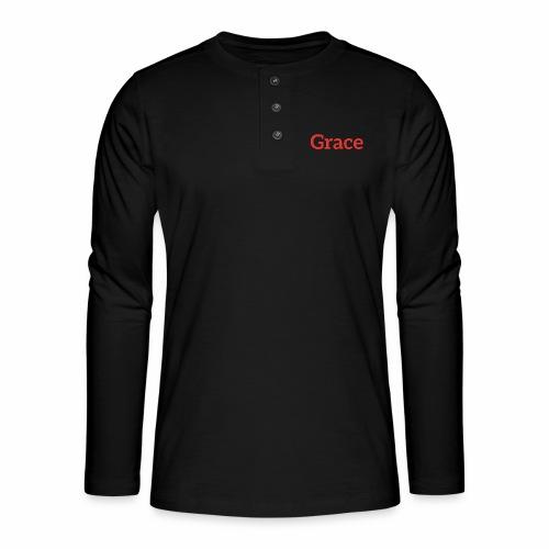 grace - Henley long-sleeved shirt