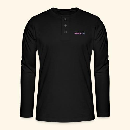 Sarcasm - T-shirt manches longues Henley