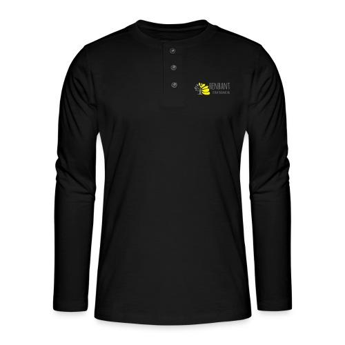 henbant logo - Henley long-sleeved shirt
