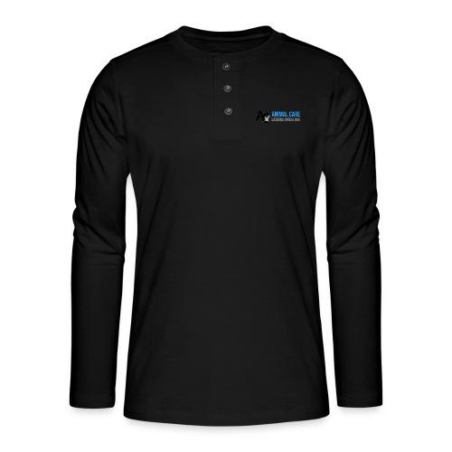 Sædding_Dyreklinik_ by Lattapon - Henley T-shirt med lange ærmer