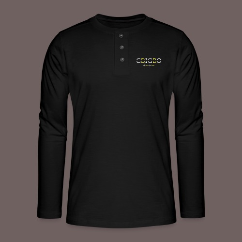 GBIGBO zjebeezjeboo - Retour à l'essentiel - T-shirt manches longues Henley