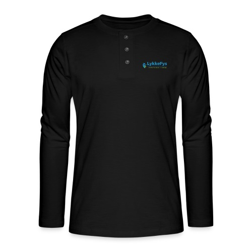 Lykkefys Esbjerg - Henley T-shirt med lange ærmer