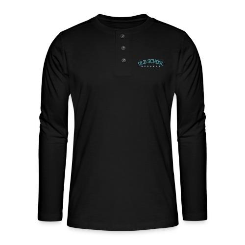 Old School Respect 02 - Henley shirt met lange mouwen