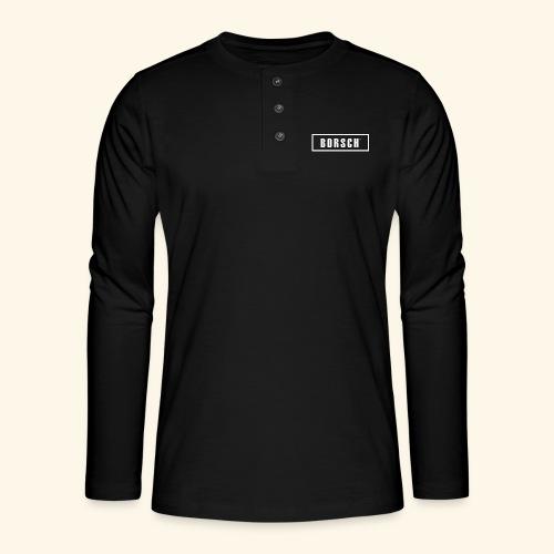 Borsch - Henley T-shirt med lange ærmer